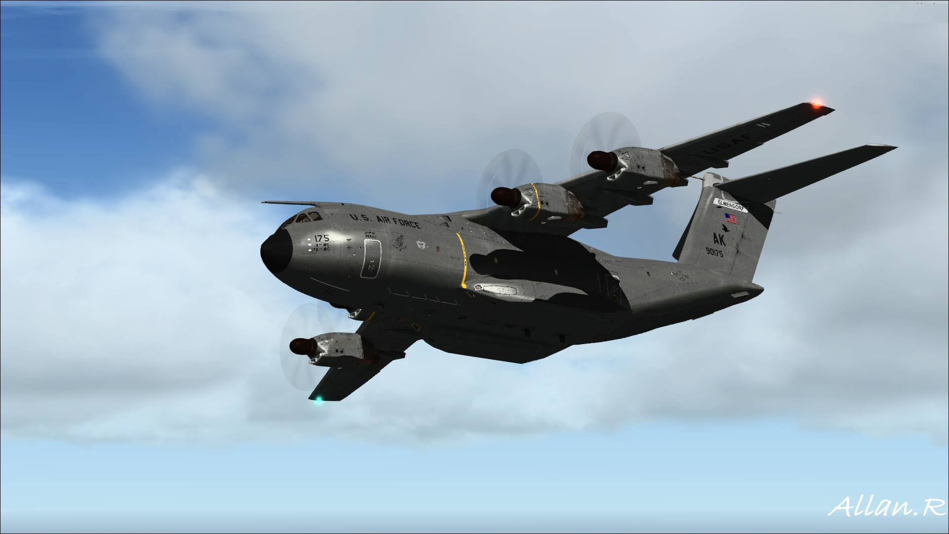 P3d how to open chaseplane
